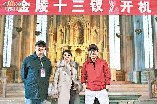 《金陵十三钗》开拍 张艺谋耗资两千万建场景