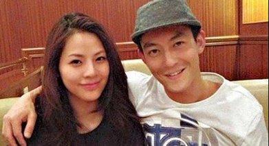 陈冠希与现任女友洪文安