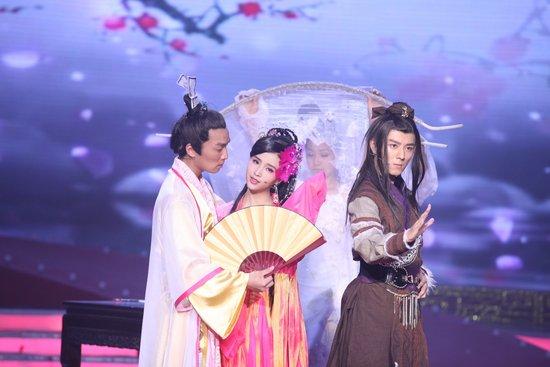 安徽卫视《新水浒》首映礼 杜淳揭秘西门庆之争