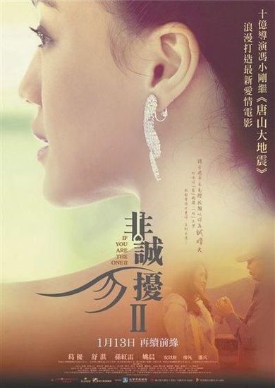 《非诚勿扰2》台湾上映 内地票房已接近5亿