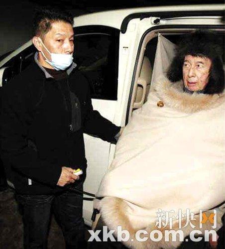 赌王何鸿燊昨日再次入院 三太陈婉珍称其身体好