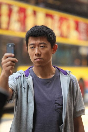 《西风烈》香港封街拍摄 夏雨:打戏就是被人打