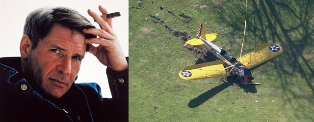 哈里森·福特发生坠机 意外受伤