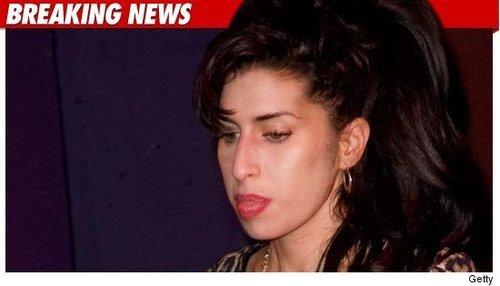 27岁格莱美奖女歌手艾米怀恩豪斯死于家中(图)