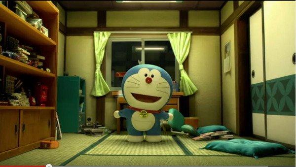 哆啦A梦打造首部3D版电影 网友 有点违和感图片