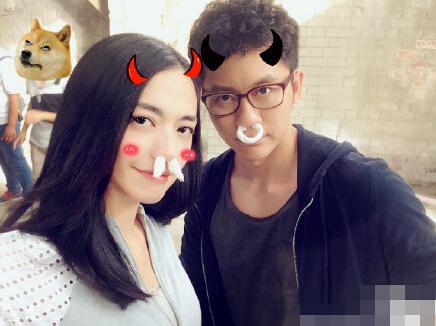 李晨晒与姚晨搞笑合影网友:双晨组合萌萌哒