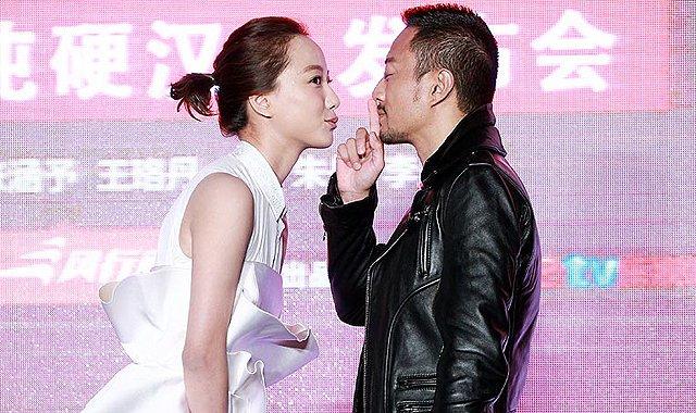 《我爱的是你爱我》将映 王珞丹张涵予现场亲嘴