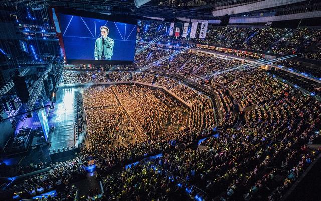BIGBANG墨西哥演唱会 粉丝狂热认证全球高人气