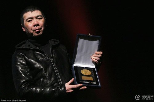 《一九四二》罗马获金蝴蝶奖 冯小刚称是惊喜
