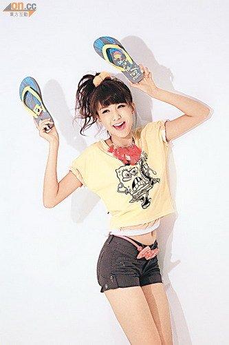 陈嘉桓情迷海绵宝宝 否认获富贵眼镜男求爱(图)