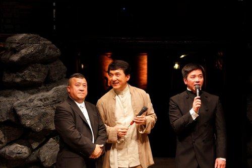 华大影业亮相成龙捧场 万达加盟首度投资电影
