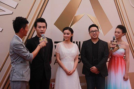 袁姗姗出席《亚洲偶像盛典》 获最具潜力女演