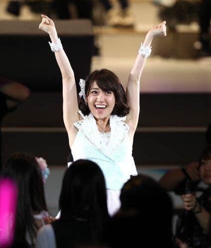 第4届AKB48人气总选 大岛优子10万票夺下一姐