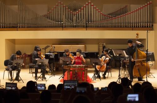 扬琴演奏家黄河 王瑟教学音乐会显四大特色