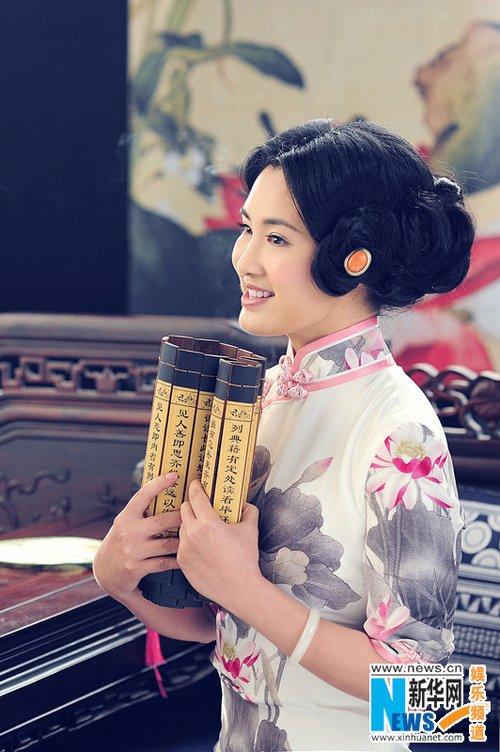 组图:刘一祯弘扬国学文化 古典唯美写真曝光