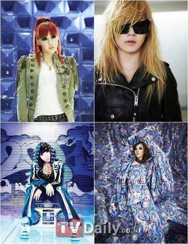 2NE1首张正规专辑将发行 公开照片及主打歌题目