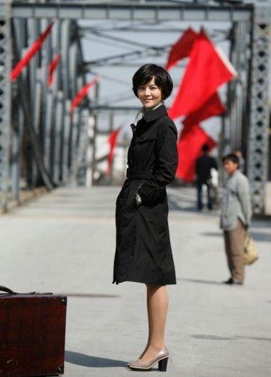 ...影视频道,刘孜在剧中饰演的美女特工\