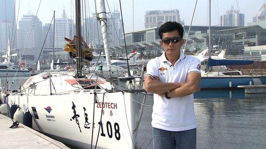 《中国梦》迎海上独行侠郭川 坚定信念成就伟业
