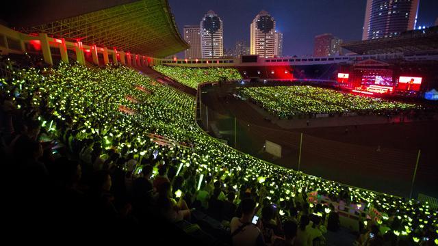 BIGBANG巡演西安站收官 粉丝花样大应援