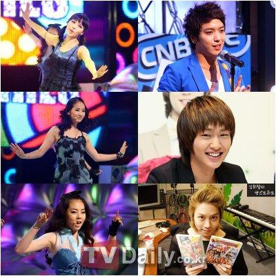Wonder Girls各成员们公开自己的理想型男生