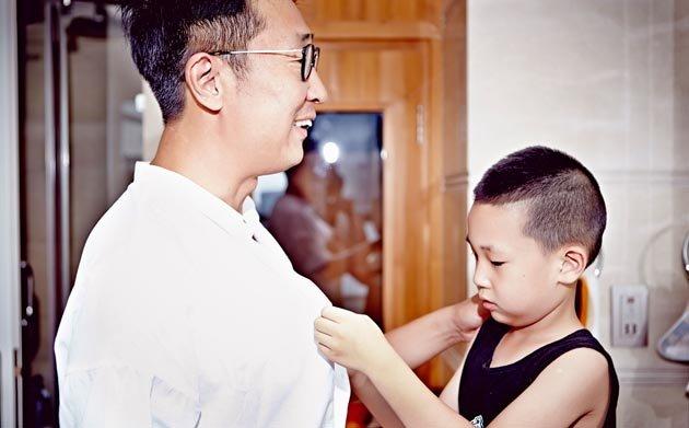 林永健大竣:冤家父子的幸福时光