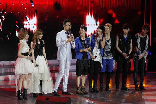 美男团Hit5中国制造 《声动亚洲》对战日系姐妹
