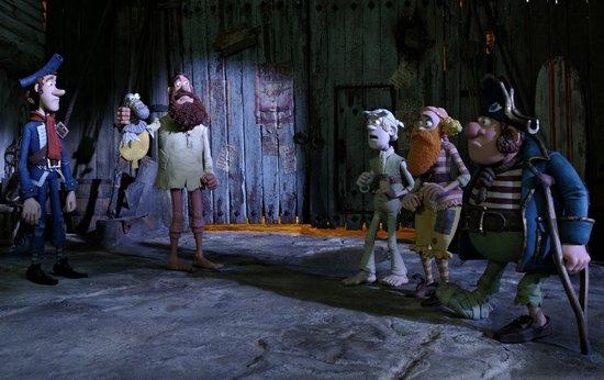 《神奇海盗团》继续领跑六月新片 观众好评不断
