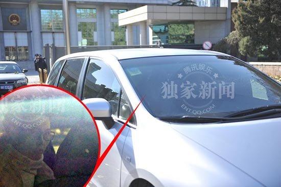 独家:李某某案二审维持原判 梦鸽乘私家车离开