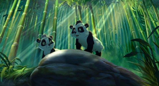 成年熊猫卡通的图片_冬天新款成人男女卡通熊猫耳套可爱保暖儿童耳