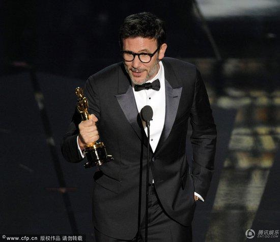 《艺术家》获得第84届奥斯卡最佳影片奖