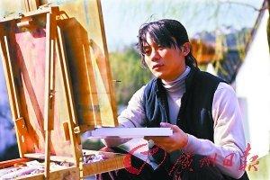 广州日报:之前也有传闻说你一度很抑郁,于是每天都写写画画.图片