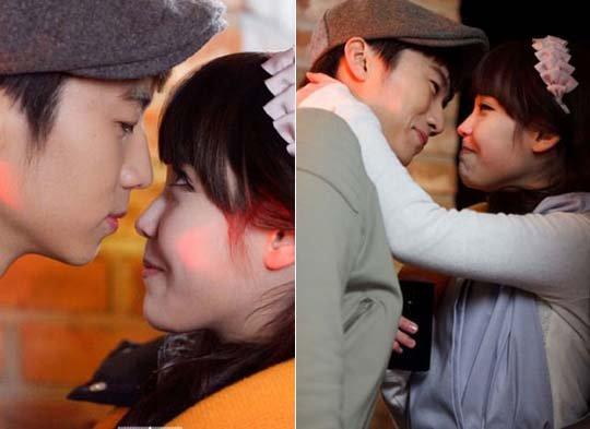 2PM张佑荣IU昔日吻戏照公开 笑场NG模样青涩