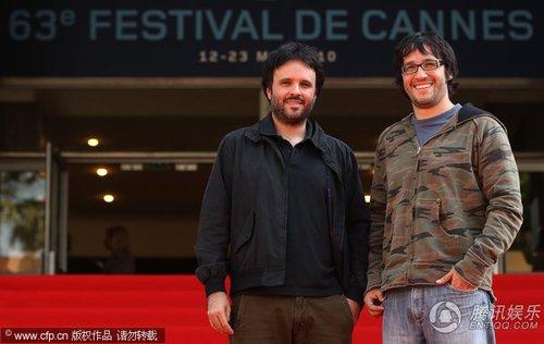 秘鲁电影《十月》首映  导演丹尼尔亮相红毯