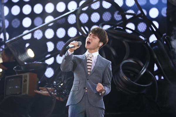 新歌声冠军蒋敦豪:没想过会赢 不惧与张磊比较