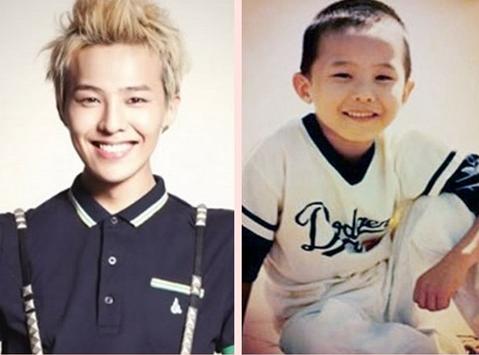 BIGBANG权志龙幼年照曝光 梳平头造型可爱
