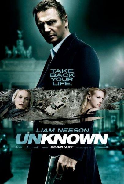北美票房:连姆·尼森新片《未知》勇夺冠军
