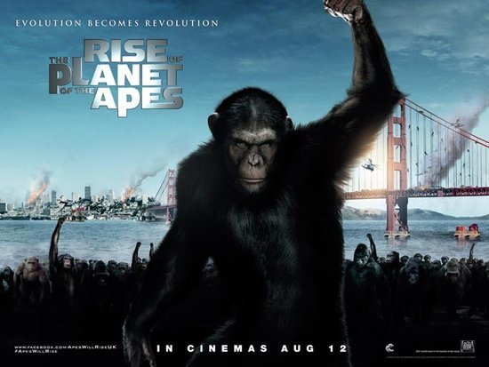 北美:《猿族崛起》强势夺冠 《变3》海外发力