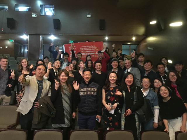 在当天的活动中,团组成员参观了北京电影学院国际交流学院,动画学院图片
