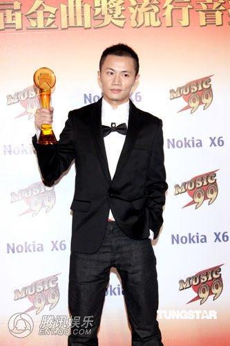第21届台湾金曲奖 聂永真获得最佳专辑包装奖
