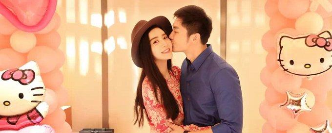 李晨花心思为女友范冰冰筹划Hello Kitty生日派对,并甜蜜献吻。