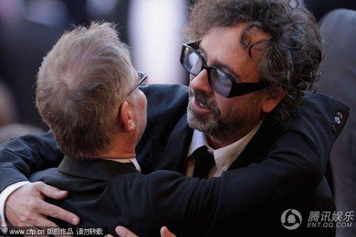 《美错》首映 评委会主席蒂姆·伯顿撑场助阵