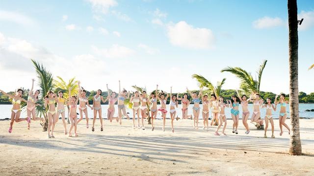 SNH48新�吻�《�粝�u》MV�A告 美少女化身精�`