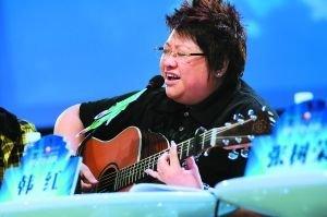 金钟奖评委韩红反感选手玩煽情 称就是比唱歌