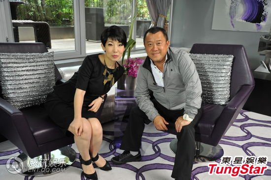 曾志伟:刘德华可以当香港特首 恋家又疼爱太太