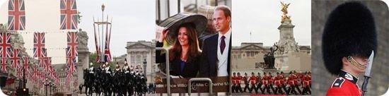 威廉婚礼系列之四:伦敦上空的红歌