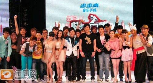 快男音乐世界杯:长沙VS杭州VS西安