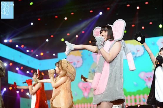 SNH48第二届金曲大赏海报出炉 百人同台开唱