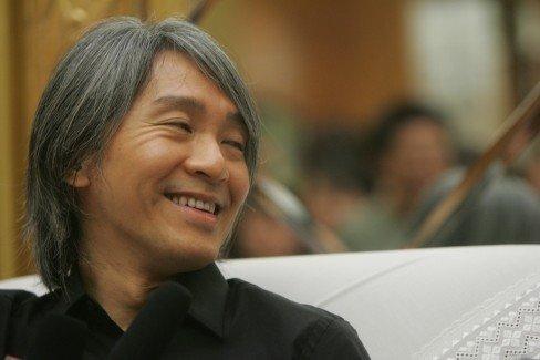 周星驰谈黄晓明新片:《唐伯虎2》是动画片吗