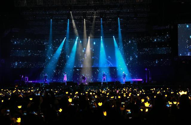 BIGBANG深圳演唱会圆满落幕 与粉丝亲密互动