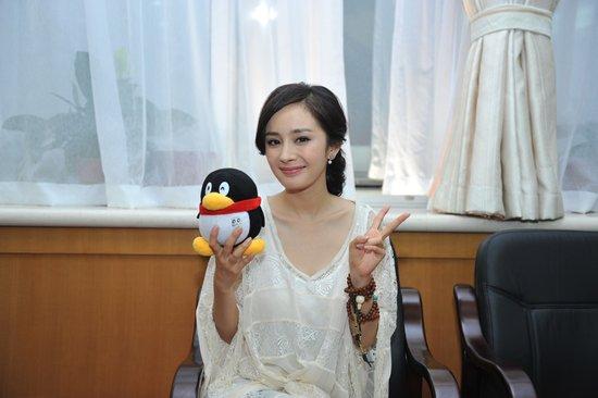 专访最佳人气女演员杨幂:自认为没到拿奖时候